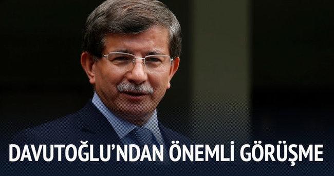 Başbakan Davutoğlu, Faymann ile telefonla görüştü