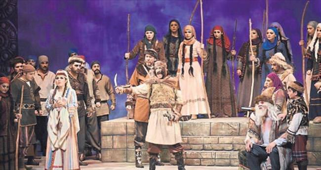 Köroğlu Operası'nın prömiyeri yapıldı