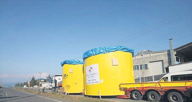 Trabzon'dan dünyaya altın tankları satıyor
