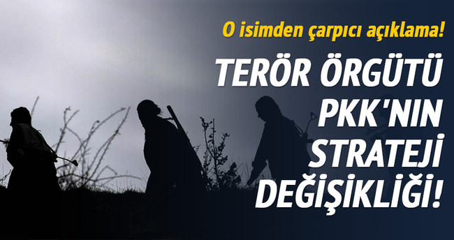 PKK'nın strateji değişikliği