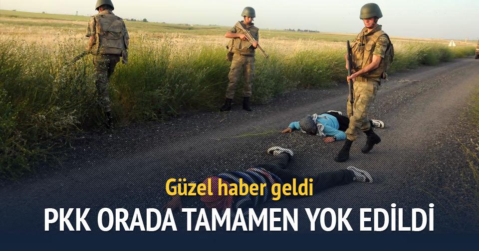 PKK o ilçede tamamen yok edildi