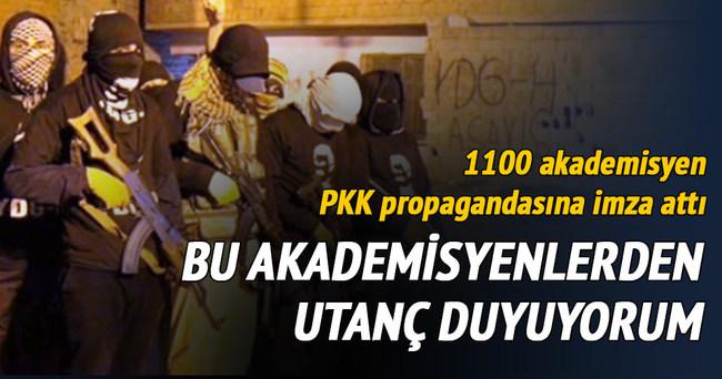1100 akademisyen PKK propagandasına imza attı