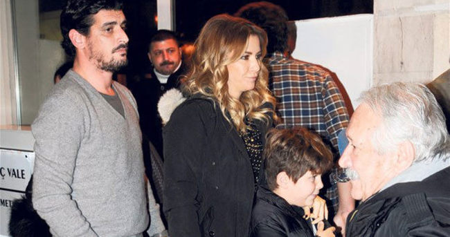 Ivana Sert oğluyla sevgilisini kaynaştırma turunda