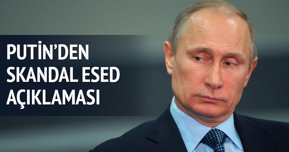 Putin'den skandal Esed açıklaması: Bize sığınabilir