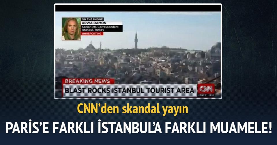 Paris'e farklı Türkiye'ye farklı muamele!