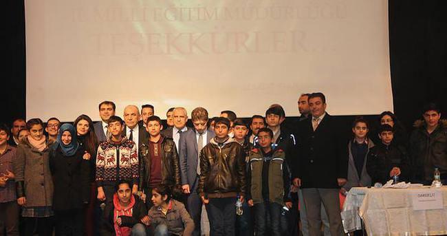 Aziz Sancar Bilim Olimpiyatları il finali yapıldı