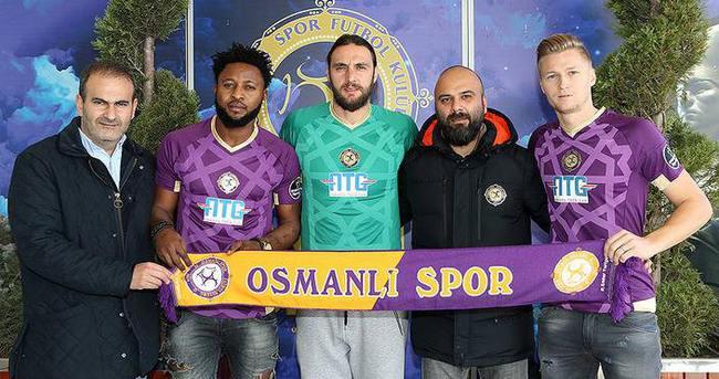 Osmanlıspor'da çifte transfer