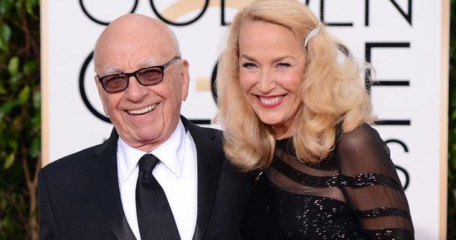 Medya patronu Rupert Murdoch 84 yaşında nişanlandı