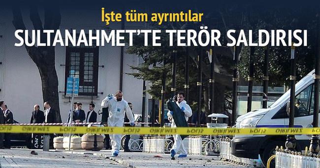 Sultanahmet'te canlı bomba saldırısı: 10 ölü 15 yaralı