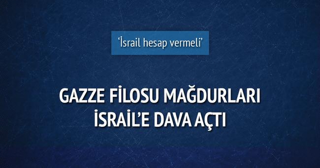Gazze filosu mağdurları İsrail'i Washington'da dava etti