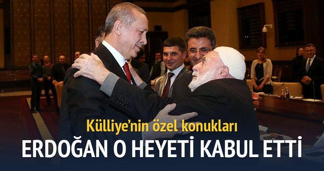 Erdoğan, Ahıska Türkleri heyetini kabul etti