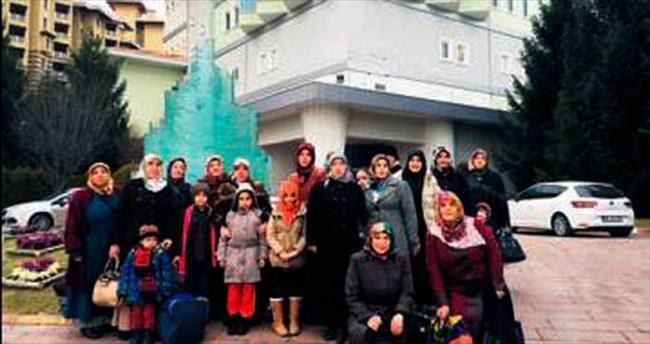 Pursaklarlı kadınlar termal tesisleri gezdi
