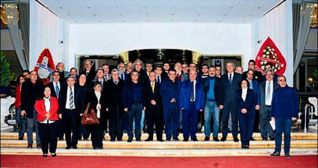 Başkan Kocamaz gazetecilerle buluştu
