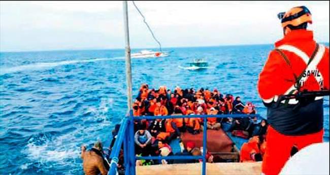 Göçmen kaçakçılarına 128'er yıl hapis cezası