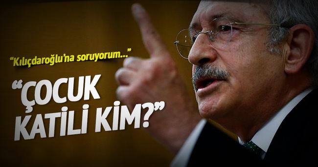 Bekir Bozdağ'dan Kılıçdaroğlu'na: Çocuk katili kim?