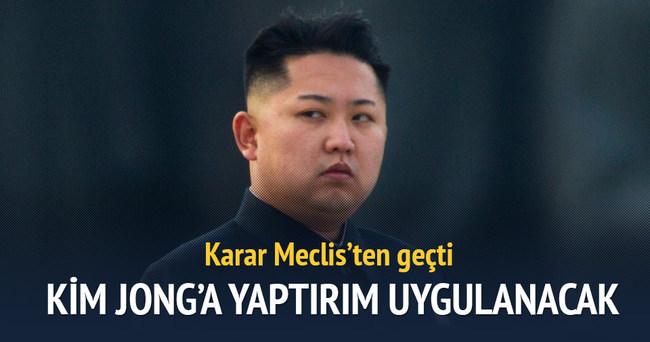 Kuzey Kore'ye yaptırım tasarısı kabul edildi