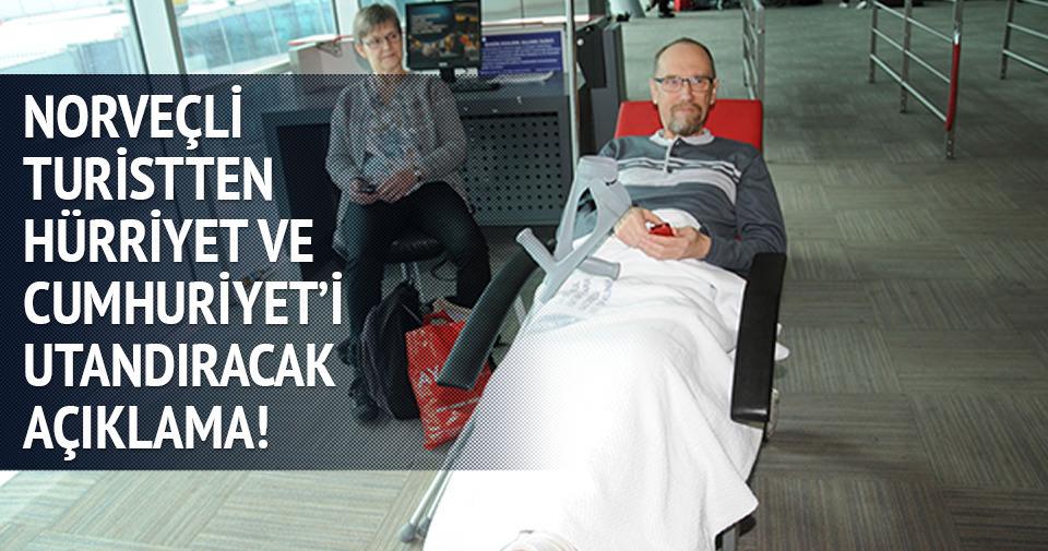 Yaralanan Norveçli turist: İstanbul'a döneceğim
