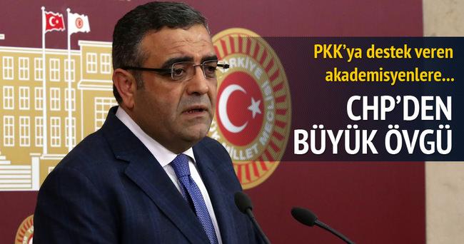 CHP'den PKK'yı destekleyen akademisyenlere destek!