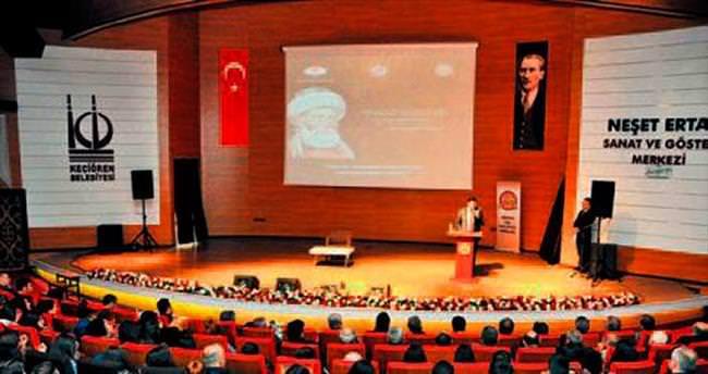Hacı Bayram-ı Veli anlatıldı
