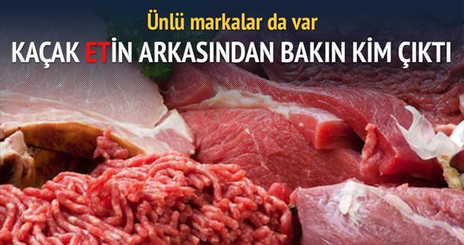Kaçak et vurgunu ünlü markaya uzandı
