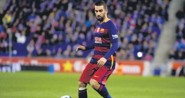 Arda 90 dakika Barça tam yol