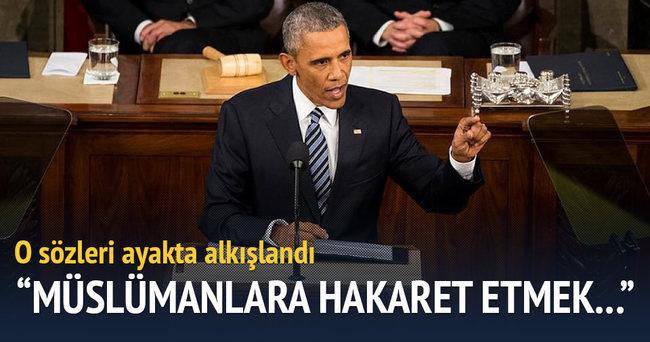 Obama Suriyeli sığınmacıyı onur konuğu yaptı