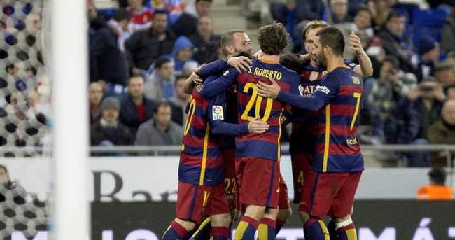 Barcelona'nın 21 maçtır bileği bükülmüyor