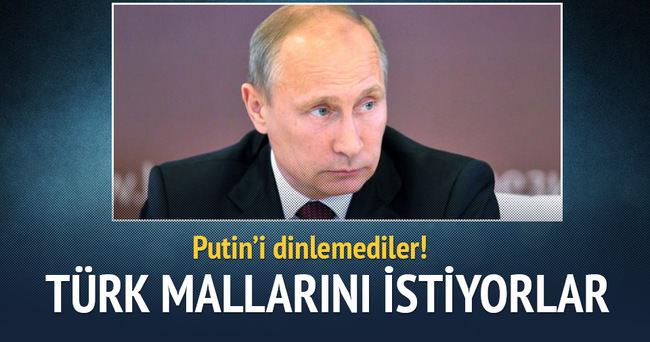 Rus şirketleri, Türk mallarını istiyor