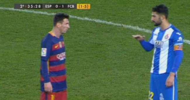 Messi ve Alvaro'nun efsane diyaloğu