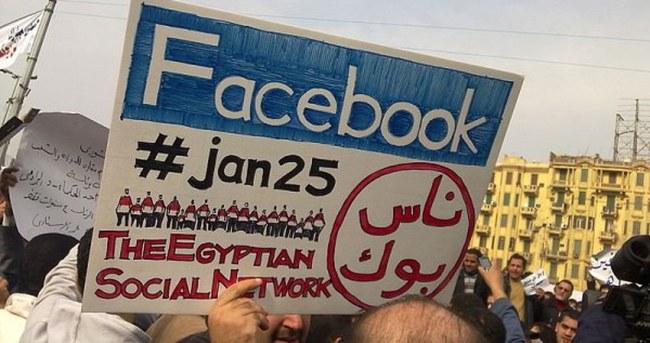 Mısır'da 47 facebook sayfa yöneticisine gözaltı