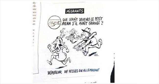 Charlie Hebdo'dan bu kez skandal Aylan karikatürü