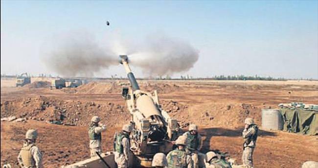 Top atışlarıyla 200 DAEŞ'li öldürüldü