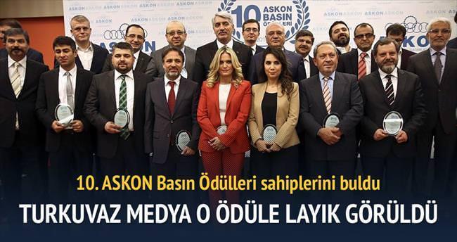 Turkuvaz'a en iyi medya ödülü