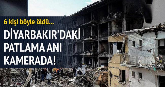 Diyarbakır'daki patlama anı kamerada