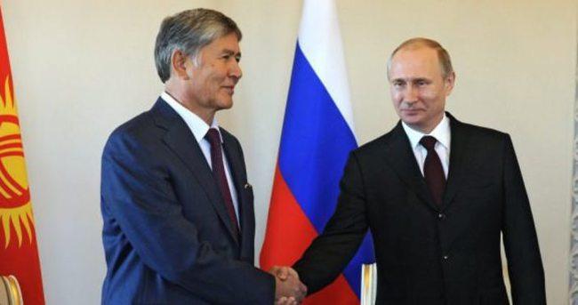 Kırgızistan Rusya ile anlaşmayı bozuyor
