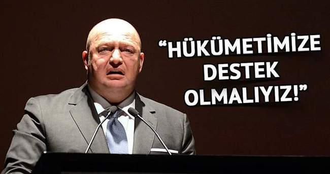 Mustafa Koç: Uluslararası platformlarda hükümetimize destek olmalıyız
