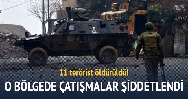 Diyarbakır Sur'da çatışmalar şiddetlendi!