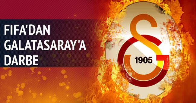 FIFA'dan Galatasaray'a transfer engeli