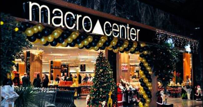 Macrocenter'ın alışverişi de çok özel