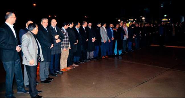 Bakan Faruk Çelik'i iki bin kişi karşıladı