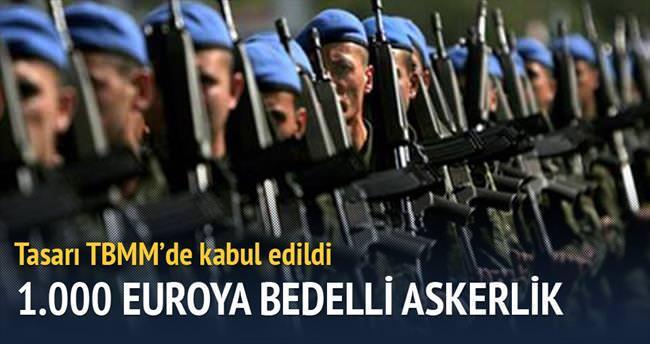 Dövizle askerlik 1.000 euroya indi
