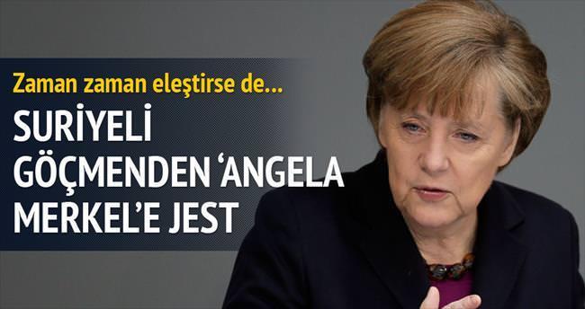 Kızına 'Angela Merkel' adını verdi