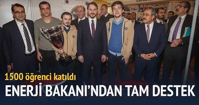 Enerji Bakanı'ndan gençlere tam destek