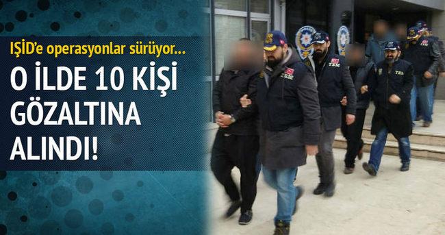Konya'da IŞİD operasyonu!!