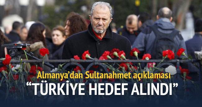 'Sultanahmet saldırısında Türkiye hedef alındı'