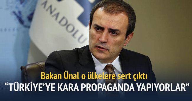 'Türkiye hakkında kara propaganda yapılıyor'