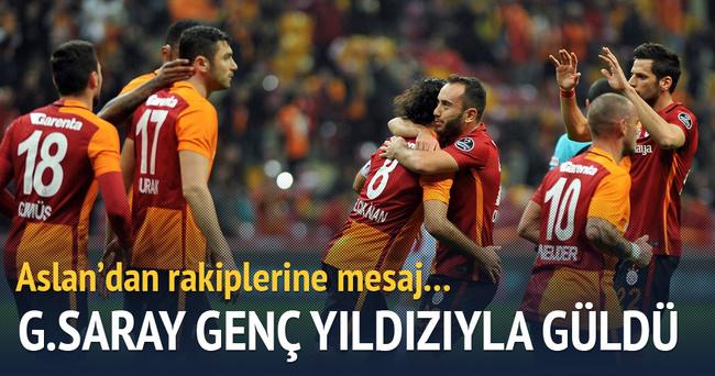 Galatasaray Sivasspor'u mağlup etti