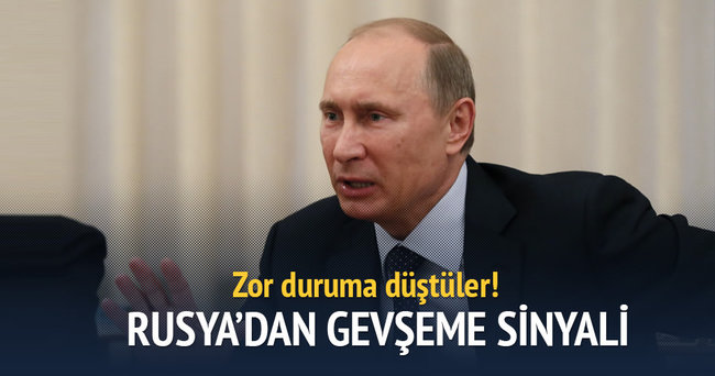 Rusya'dan gevşeme sinyali!