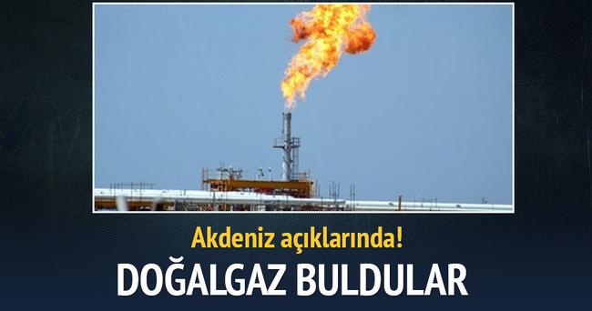 Akdeniz'de yeni doğalgaz alanı buldu