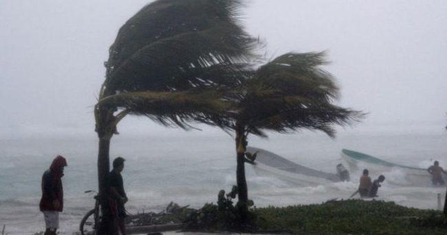 Akdeniz'de yağmur ve fırtına uyarısı